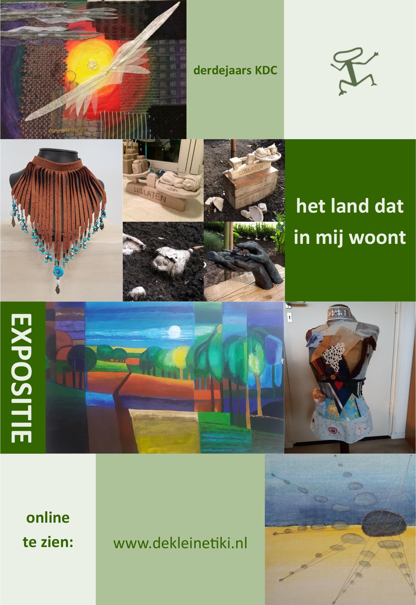 online expositie De Kleine Tiki KDC 3 ILW E - door Barbara Gijtenbeek