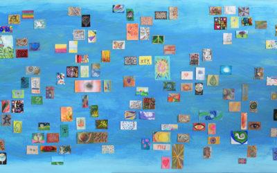 Gezamenlijk kunstwerk: Tiki-geluk