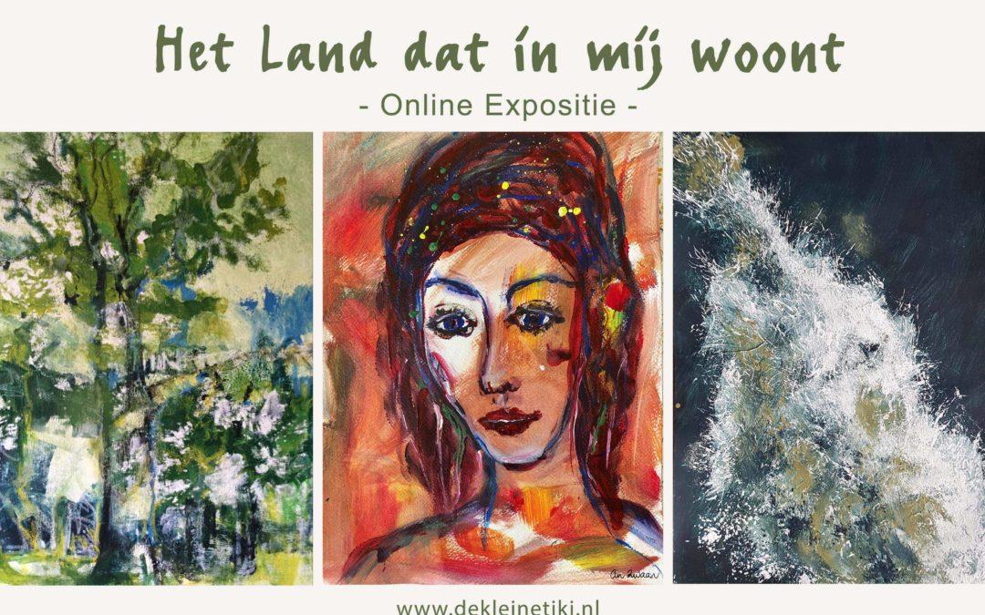 Online expositie 'Het land dat in mij woont' is geopend!